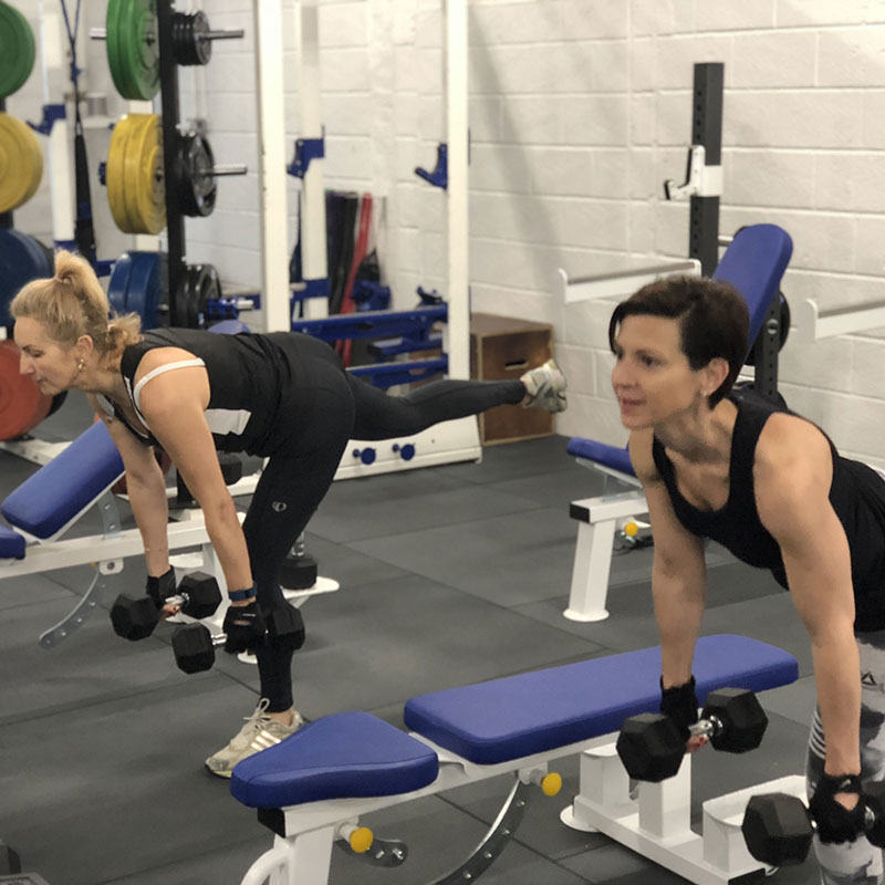 ladies personal training in hamble gym