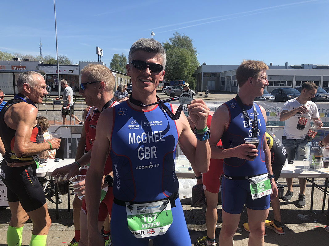 Vejle European Championships 2018 Finisher