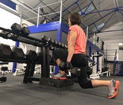 Split Squat - Personal Training - Hamble, Southampton