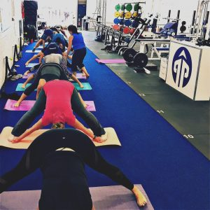 Yoga class hamble